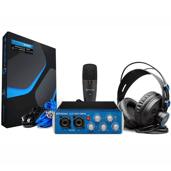 PreSonus AudioBox USB 96 Studio Bundle