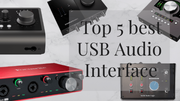 Top-5-best-USB-audio-interface